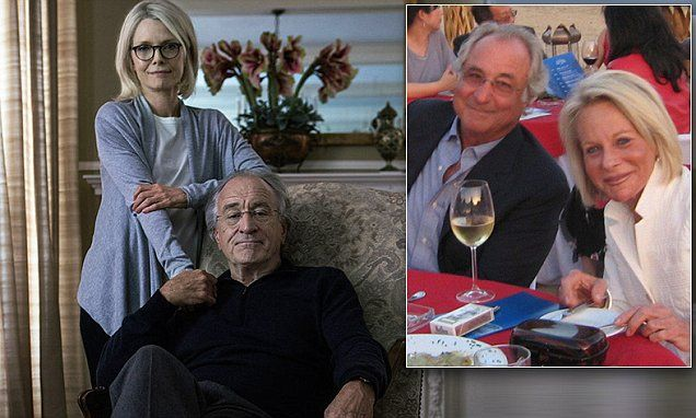Robert DeNiro and Michelle Pfeiffer as Bernie and Ruth Madoff in Wizard of Lies | Daily Mail Online