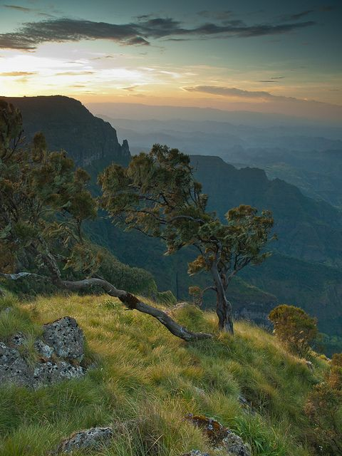 Sankaber Sunset in Simien Mountains, Ethiopia (by Keith - Glasgow).
