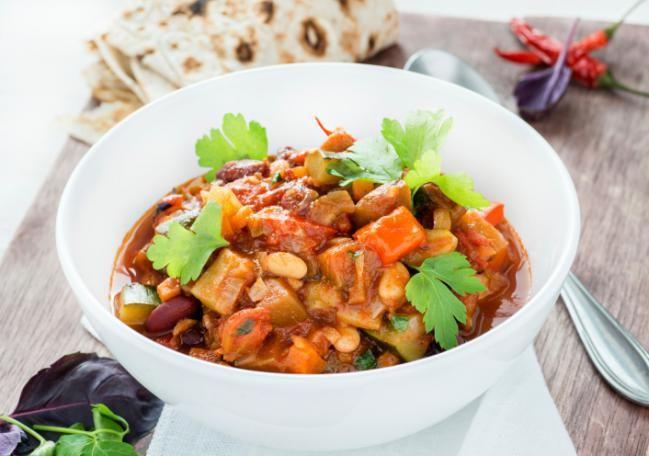 Delicioso chili vegetariano - IMujer