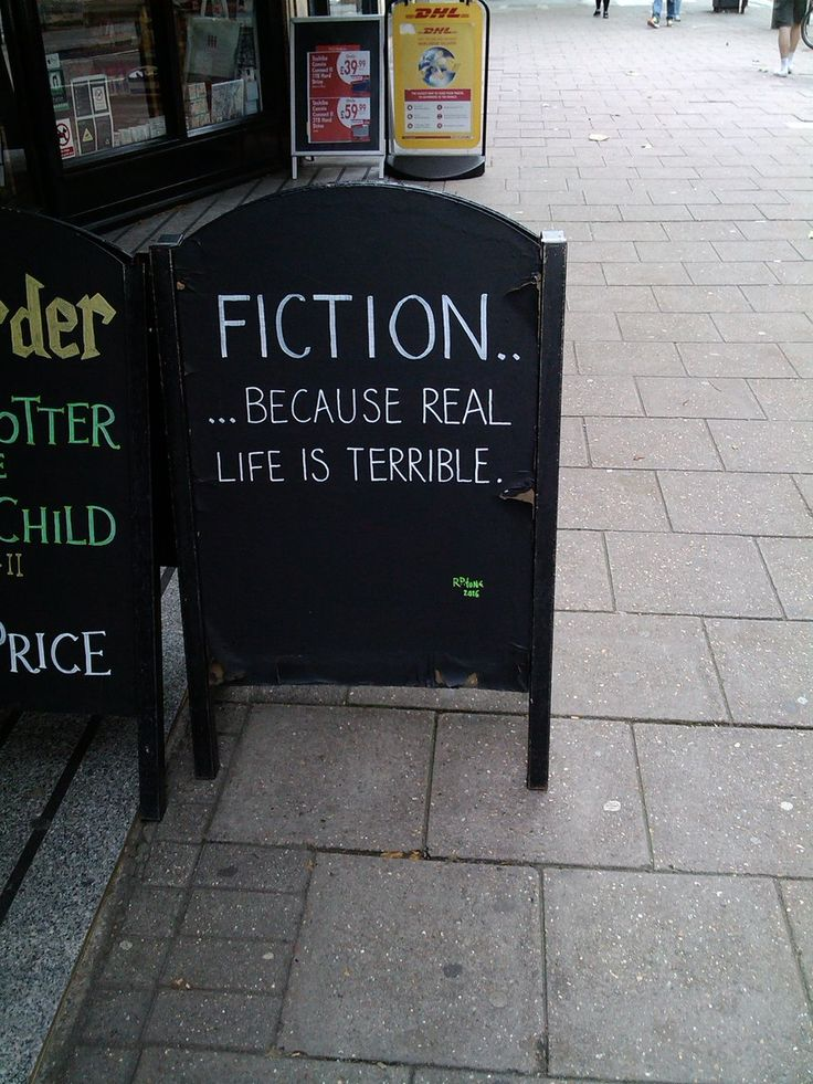 Isn't this the truth? @Waterstones in Bloomsbury, London