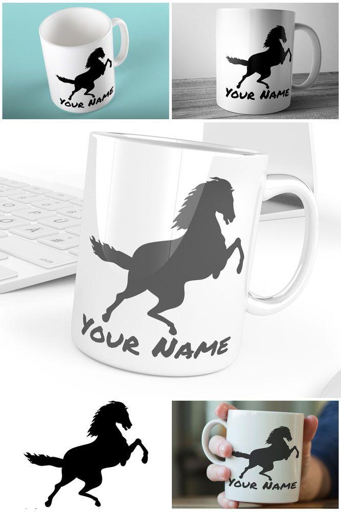 Prancing Horse Custom Mug Design Custom Coffee Mugs Personalised Mugs UK Name
