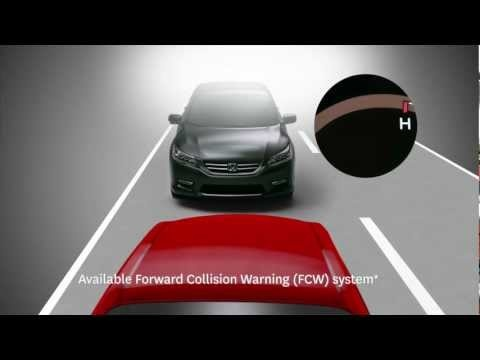 2013 Accord - All-new Forward Collision and Lane Departure Warning
