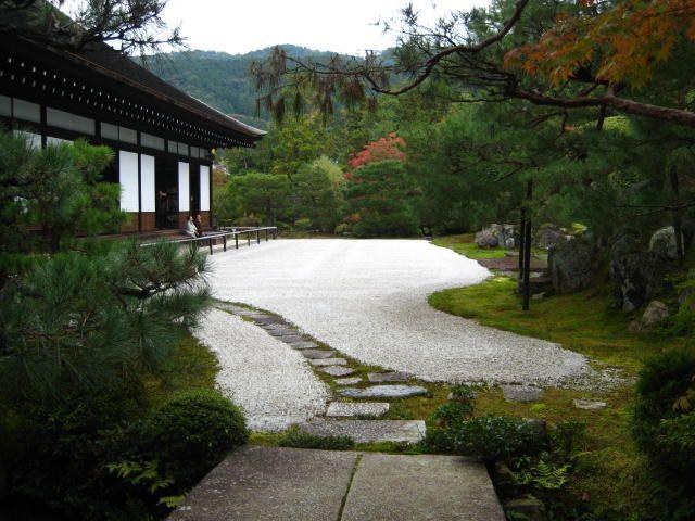 Japanese garden in  Kyoto Konchiin 京都・ 金地院