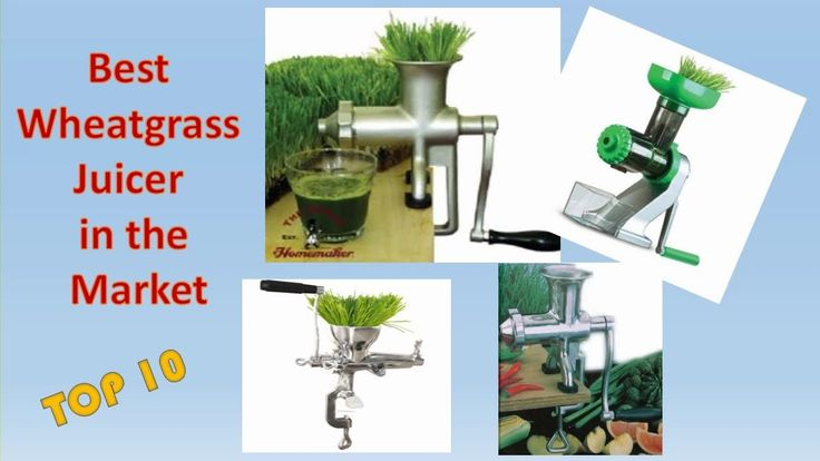 Juicing Wheatgrass Benefits with BEST WHEATGRASS JUICER  Top 10 Review!  Dont forget to like share and subscribe if you like my collections.   Get FULL REVIEWS DISCOUNT PRICES and Details:  10. Handy Pantry HJ Wheatgrass Juicer:  9.