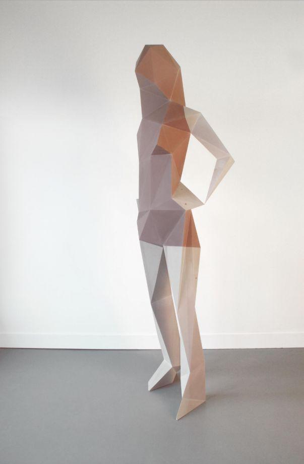 Les sculptures à facettes de Xavier Veilhan xavier veilhan polygone 06 603x920