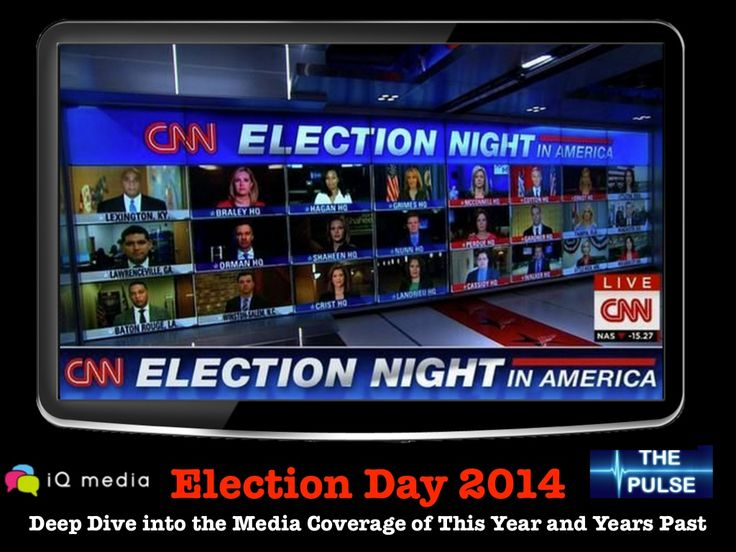 Election Day 2014: Deep Dive into the Media Coverage of This Year and Years Past by CommPRO.biz via slideshare