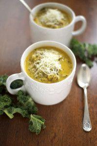 Kale and Cauliflower Soup | IHOD