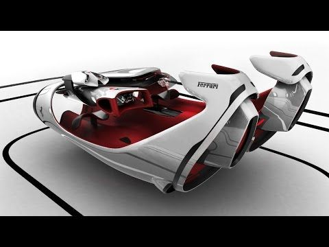 Ferrari Top Design School Challenge FL Concept By Roman Egorov