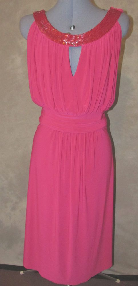 Ariella,ladies,size 22,Pink,No pattern,sleeveless,calf length,Cocktail,Dress.