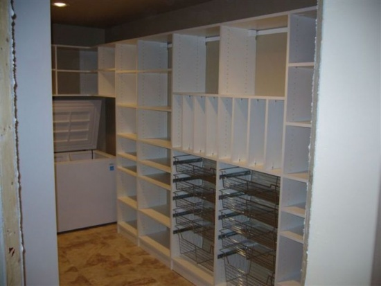Pantry design ideas california closets dfw pantry for Closets by design dallas