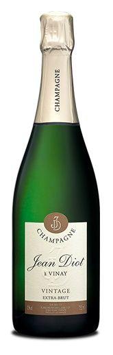 www.wijnkraam.nl - Cuvée Vintage Extra Brut. Een champagne, licht goud gekleurd met groene en zilveren tinten en met fijne bubbels. Aroma's van wit fruit: appel, peer en perzik. In de mond rijp, fris en met een soepele aangename lange afdronk.