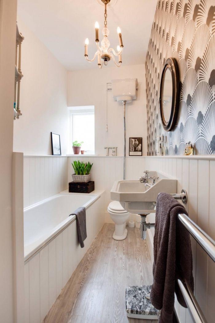 les 25 meilleures id es de la cat gorie salle de bains avec parquet sur pinterest cuisine avec. Black Bedroom Furniture Sets. Home Design Ideas