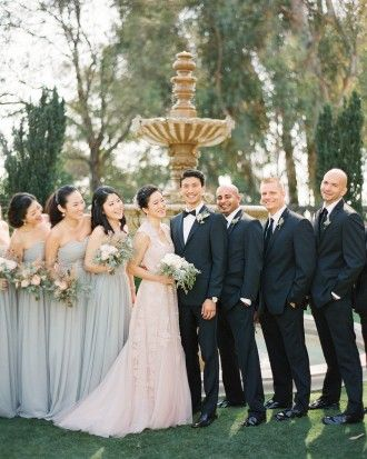 Annie And Tad's Elegant Beverly Hills Wedding - The Wedding Party