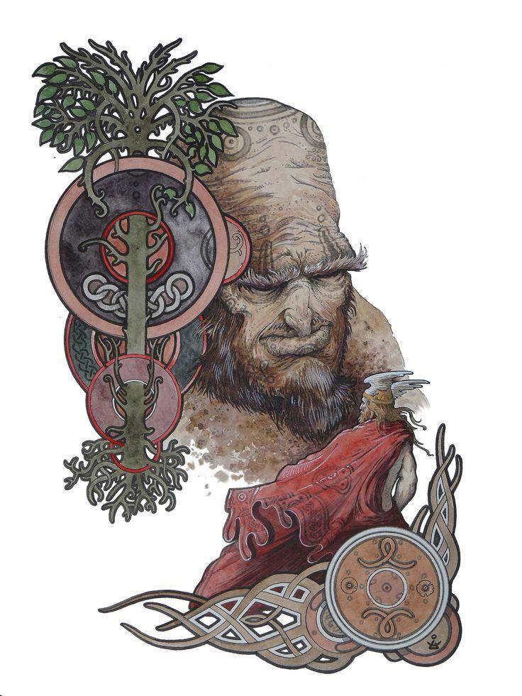 Dmitrij Ilyutkin | Thor & Skrymir