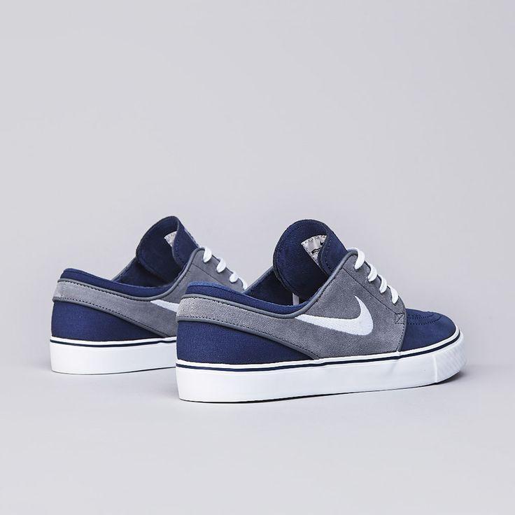 Flatspot - Nike SB Stefan Janoski Midnight Navy / White - Cool Grey