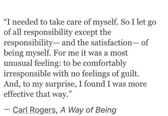 Carl Rogers | A Way of Being