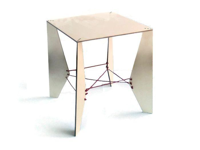 Tavolino+da+caffè+quadrato,arredi+minimalisti+di+DigitalHandmade+su+DaWanda.com