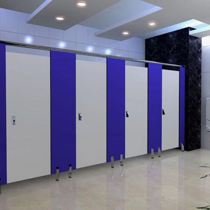 Jialifu hpl toilet partition supplier in Guangzhou fair 2015