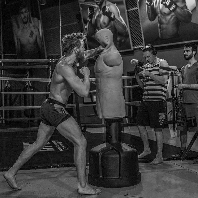 boxing training of future Irish champ Conor McGregor : if you love #MMA, you'll love the #UFC & #MixedMartialArts inspired fashion at CageCult: http://cagecult.com/mma