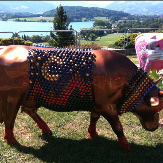 Nespresso cup cow, Switzerland