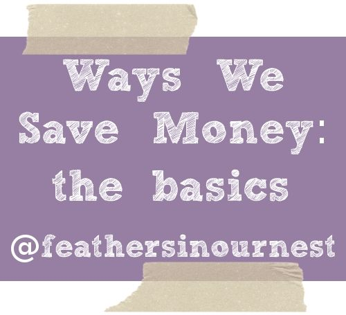 I'm starting a new series here at Feathers in Our Nest.  I want to share with you some of the ways that our family saves money, not so we can save thousands each year in a bank account or take dream vacations, but truly so we can make ends meet.  This is not to make...Read More »