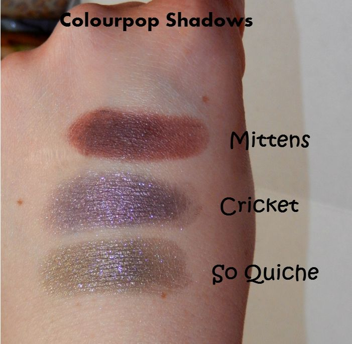 ColourPop Cosmetics: Review and Swatches (So Quiche ...