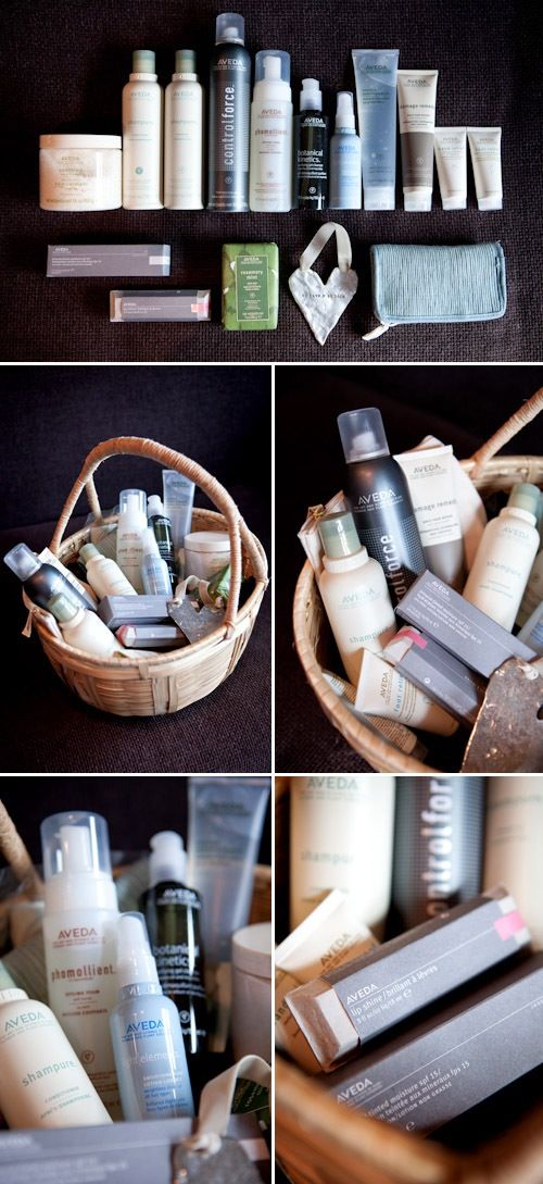This reminds me of my personal Aveda deliveries!