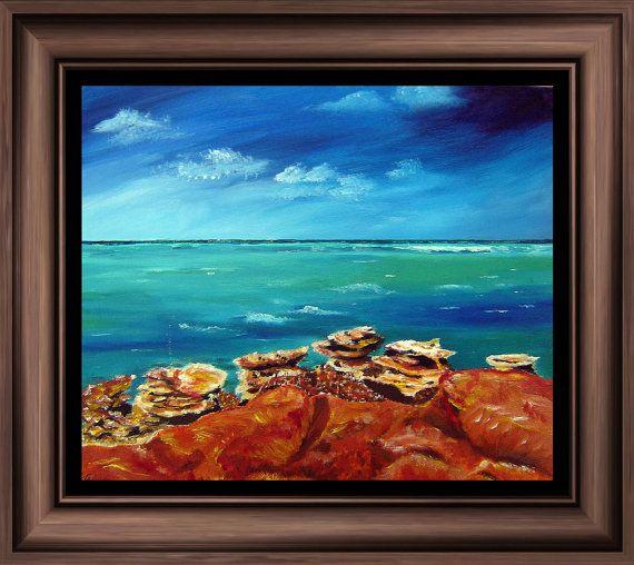 Art Print 'Gantheaume Point Western Australia' by tervern on Etsy, $30.00