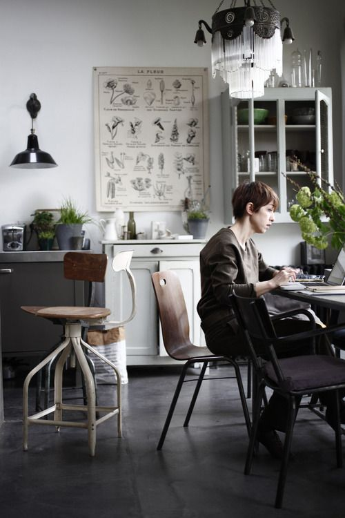 Natural Light: Dreams Offices, Decor Dreams, Living Spaces, Industrial Kitchens, Offices Spaces, Kitchens Tables, Modern Industrial, Kitchens Offices, Art Decorativa
