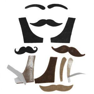 Set nalepovacích rekvizit holičství Rex London Moustache