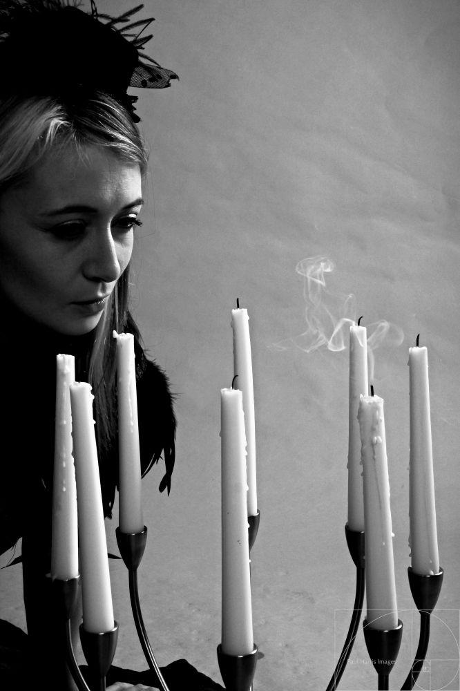 My Eyes Are Open - @pheonixr3d, @pheonix_r3d #candles #sharp #blackandwhite #mono #smoke #whisp