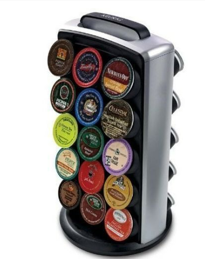 Keurig K Cup 30 Coffee Pod Holder Carousel Tower Storage