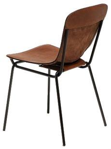 Hammock från David Design med sittskal av garvat läder där flera olika färger finns.