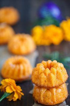 Тыквенные маффины с апельсиновой цедрой - в поисках ВКУСОВЫХ ощущений......