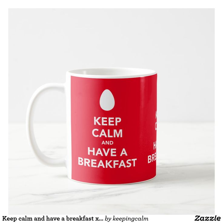 Keep calm and have a breakfast x3 images per coffee mug.  #coffeemug #breakfast #keepcalm #mugs #mug #kaffemugg #muggar #mukit #muki #aamiainen #frukost