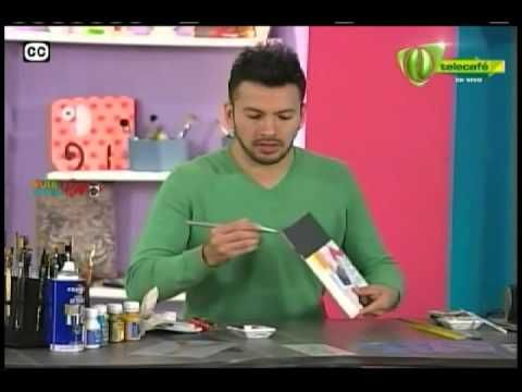 Espazio Ideal con la Técnica vintage 27 de junio 2014 Telecafé - YouTube