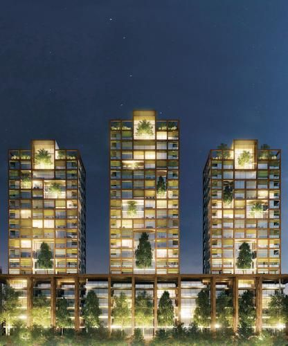 Residential towers, Milan (IT), 2010 (unbuilt)