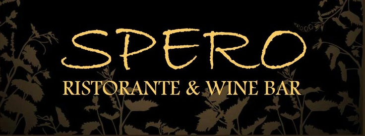 """Looking for a """"Upscale Casual"""" AMAZING Italian Restaurant?   SPERO RISTORANTE & WINE BAR is THAT place. Thank You, once again, for supporting our #SFAC 4 EVENT. SPERO will be Donating the Dinner for the #SFAC 4 EVENT!"""