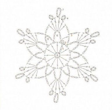 34 Best Crochet Snowflakes Free Patterns Images On Pinterest