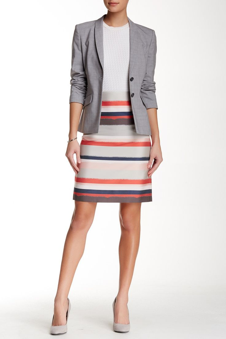 BOSS HUGO BOSS | Vistripy Pencil Skirt | Nordstrom Rack