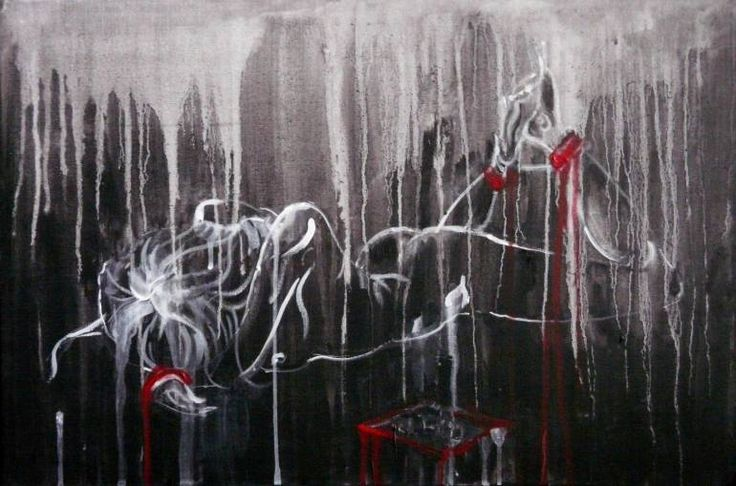 """Saatchi Art Artist Indie Ru; Painting, """"Shackles"""" #art"""