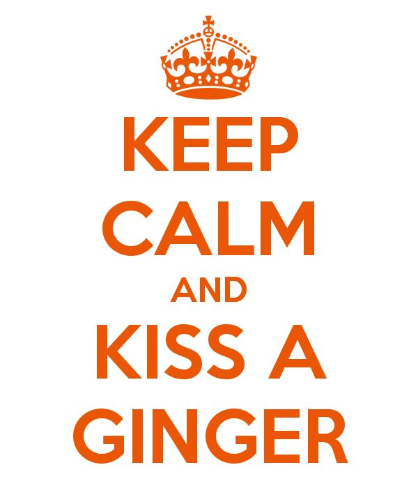 Kiss a Ginger Day January 12th - Tales of a Ranting Ginger