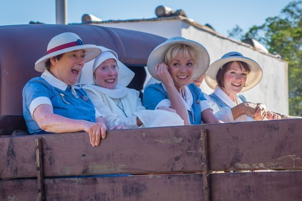 """Call The Midwife cast tell of """"crazy poverty"""" they saw in South Africa while filming Christmas special - Mirror Online"""