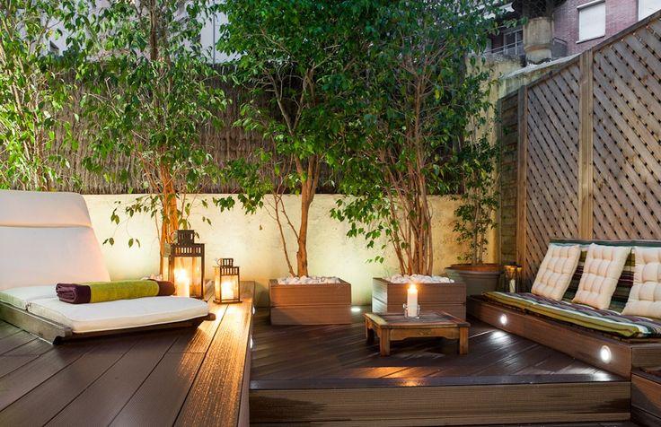 Superbe Terrasse à Barcelone réalisée par Inma Studio