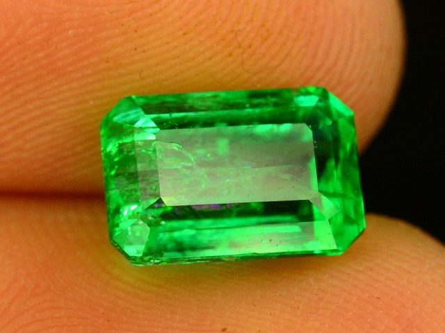 2.75 ct Natural Untreated Stunning Panjshir Emerald ~