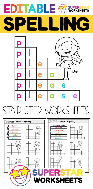 Free Editable Spelling Worksheets Free Spelling Worksheet Printables These Universal Spelling Spelling Worksheets Spelling Word Activities Spelling Practice [ 1500 x 735 Pixel ]