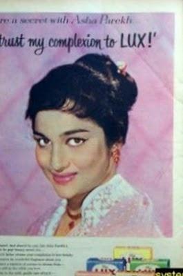 Asha parekh Lux Ad