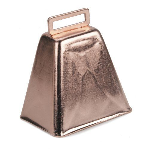 3 Inch Copper Cowbell Darice