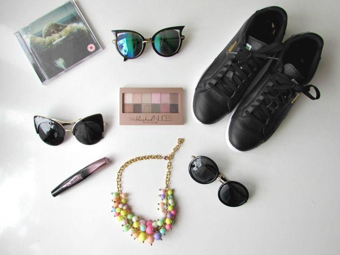New In - slnečné okuliare, tenisky Puma, Beyonce Lemonade, The Blushed Nudes, Rimmel maskara, farebný náhrdelník