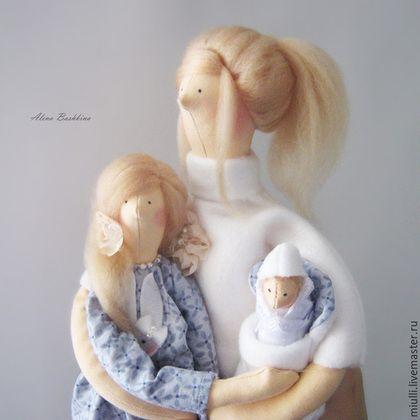 """Куклы Тильды ручной работы. Ярмарка Мастеров - ручная работа. Купить Тильда  """"Дорогая мамочка, я так люблю тебя!"""". Handmade."""